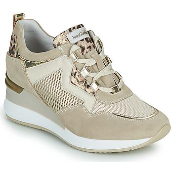 Schuhe Damen Sneaker Low NeroGiardini DARKO Beige
