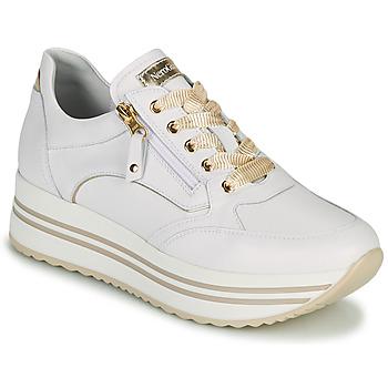 Schuhe Damen Sneaker Low NeroGiardini DAKOTA Weiss