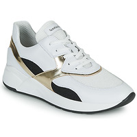 Schuhe Damen Sneaker Low NeroGiardini FILOMENE Weiss / Schwarz / Gold