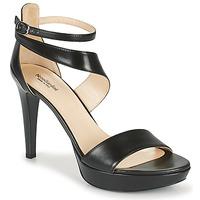 Schuhe Damen Sandalen / Sandaletten NeroGiardini FILOU Schwarz