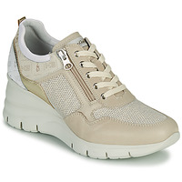 Schuhe Damen Sneaker Low NeroGiardini FLORA Beige / Gold