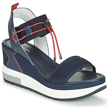 Schuhe Damen Sandalen / Sandaletten NeroGiardini CAMINO Marine / Rot