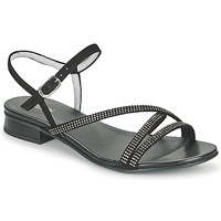 Schuhe Damen Sandalen / Sandaletten NeroGiardini TEDDY Schwarz