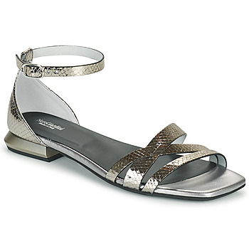 Schuhe Damen Sandalen / Sandaletten NeroGiardini TOMMA Silbern