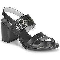 Schuhe Damen Sandalen / Sandaletten NeroGiardini GHILLO Schwarz