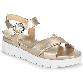 Schuhe Damen Sandalen / Sandaletten NeroGiardini LONELESS Gold
