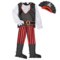 Kleidung Jungen Verkleidungen Fun Costumes COSTUME ENFANT PIRATE TOM Multicolor