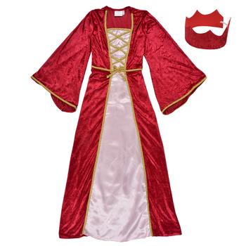 Kleidung Mädchen Verkleidungen Fun Costumes COSTUME ENFANT REINE DE LA RENAISSANCE Multicolor