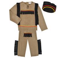 Kleidung Jungen Verkleidungen Fun Costumes COSTUME ENFANT INDIEN BIG BEAR Multicolor