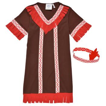 Kleidung Mädchen Verkleidungen Fun Costumes COSTUME ENFANT INDIENNE FOX KITTEN Multicolor
