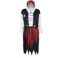 Kleidung Damen Verkleidungen Fun Costumes COSTUME ADULTE PIRATE SUZY Multicolor