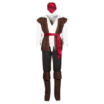 Kleidung Herren Verkleidungen Fun Costumes COSTUME ADULTE PIRATE THUNDER Multicolor