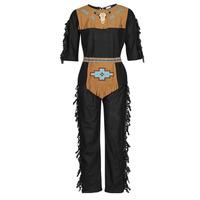 Kleidung Herren Verkleidungen Fun Costumes COSTUME ADULTE INDIENNE SHE-WOLF Multicolor