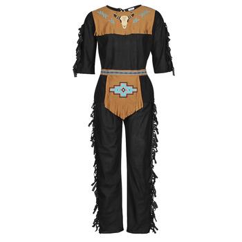 Kleidung Herren Verkleidungen Fun Costumes COSTUME ADULTE INDIEN NOBLE WOLF Multicolor