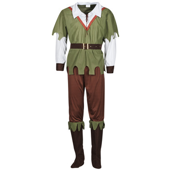 Kleidung Herren Verkleidungen Fun Costumes COSTUME ADULTE FOREST HUNTER Multicolor