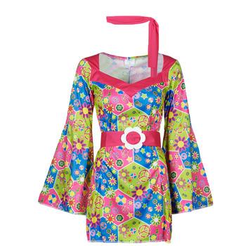 Kleidung Damen Verkleidungen Fun Costumes COSTUME ADULTE SWEET MEADOW Multicolor