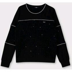 Kleidung Damen Sweatshirts Liu Jo TF0147J6084 SCHWARZ