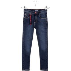 Kleidung Kinder Slim Fit Jeans Losan 023-6028AL Blau