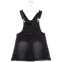 Kleidung Mädchen Overalls / Latzhosen Losan 024-7000AL Schwarz