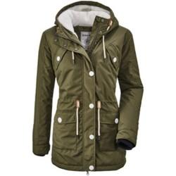 Kleidung Damen Jacken Diverse Sport Cushy WMN PRK A 3583000 00717 grün