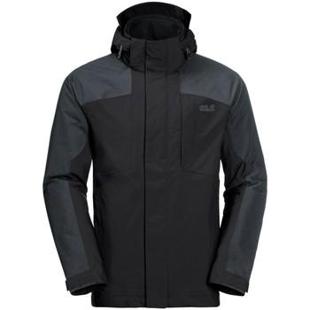 Kleidung Herren Jacken Jack Wolfskin Sport VIKING SKY MEN 1107994 schwarz