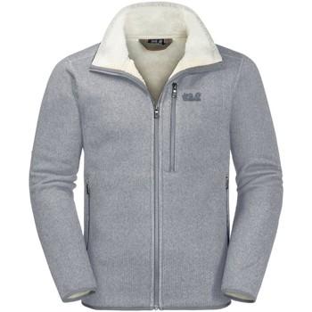 Kleidung Herren Fleecepullover Jack Wolfskin Sport ROBSON FJORD JACKET 1706721 6046 grau