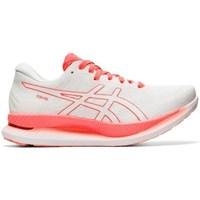 Schuhe Damen Derby-Schuhe & Richelieu Asics Glideride Tokyo Weiß, Rot