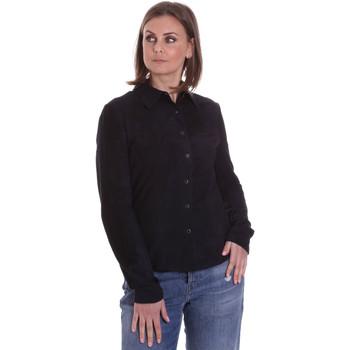 Kleidung Damen Hemden La Carrie 092P-C-110 Schwarz
