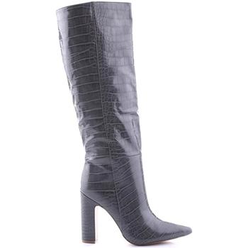 Schuhe Damen Boots Steve Madden SMSROUGE-GRYCRO Grau