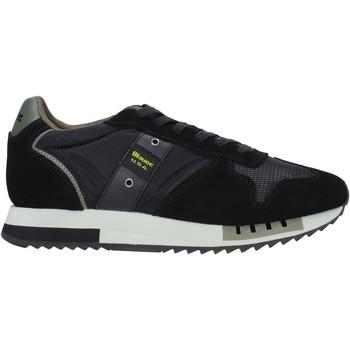 Schuhe Herren Sneaker Blauer F0QUEENS01/CAM Schwarz