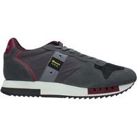 Schuhe Herren Sneaker Blauer F0QUEENS01/CAM Grau
