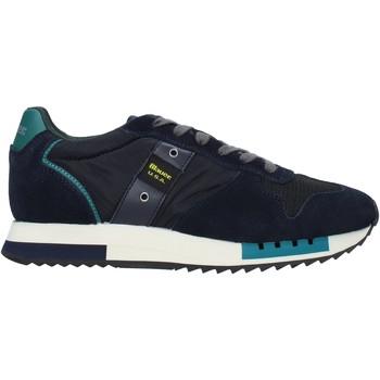 Schuhe Herren Sneaker Blauer F0QUEENS01/CAM Blau