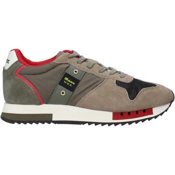 Schuhe Herren Sneaker Blauer F0QUEENS01/CAM Grün