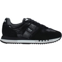 Schuhe Herren Sneaker Blauer F0MELROSE01/NYL Schwarz