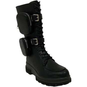 Schuhe Damen Boots Gold&gold B20 GA639 Schwarz