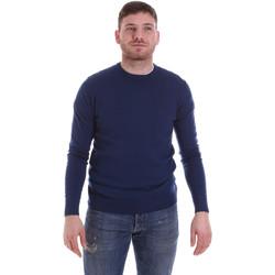 Kleidung Herren Pullover John Richmond CFIL-117 Blau