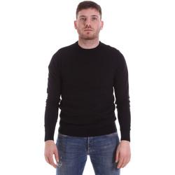Kleidung Herren Pullover John Richmond CFIL-117 Schwarz