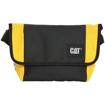 Taschen Umhängetaschen Caterpillar Detroit Courier Bag Schwarz