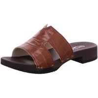 Schuhe Damen Pantoletten / Clogs Softclox Pantoletten 3501 Blida braun