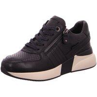 Schuhe Damen Sneaker Low Carmela Schnuerschuhe 67592 schwarz