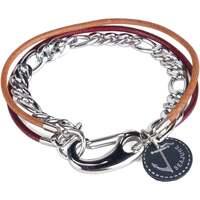 Uhren & Schmuck Herren Armbänder Seajure Armband Guam Braun