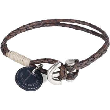 Uhren & Schmuck Herren Armbänder Seajure Armband Pitcairn Braun