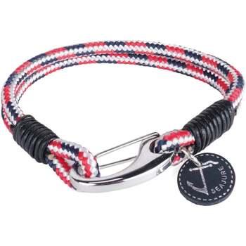 Uhren & Schmuck Herren Armbänder Seajure Armband Maui Rot