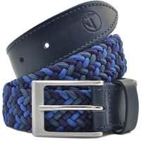 Accessoires Herren Gürtel Seajure Elastischer geflochtener Gürtel Blau