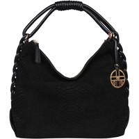Taschen Damen Handtasche Silvio Tossi - Swiss Label Handtasche 13177-02 Schwarz