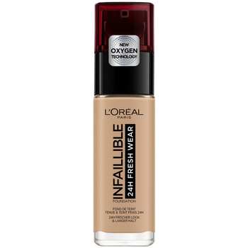 Beauty Damen Make-up & Foundation  L'oréal Infaillible 24h Fresh Wear Foundation 220-sable L'Oreal Make U