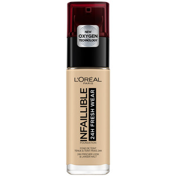 Beauty Damen Make-up & Foundation  L'oréal Infaillible 24h Fresh Wear Foundation 100-linen L'Oreal Make U