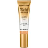 Beauty Damen Make-up & Foundation  Max Factor Miracle Touch Second Skin Found.spf20 6-golden Medium 30 ml