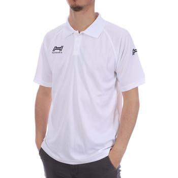 Kleidung Herren Polohemden Hungaria H-15TMUXD000 Weiss