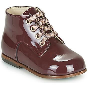 Schuhe Mädchen Sneaker High Little Mary MILOTO Bordeaux